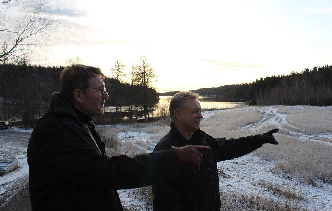 De satsar på sjönära bostäder i Kvarnvik